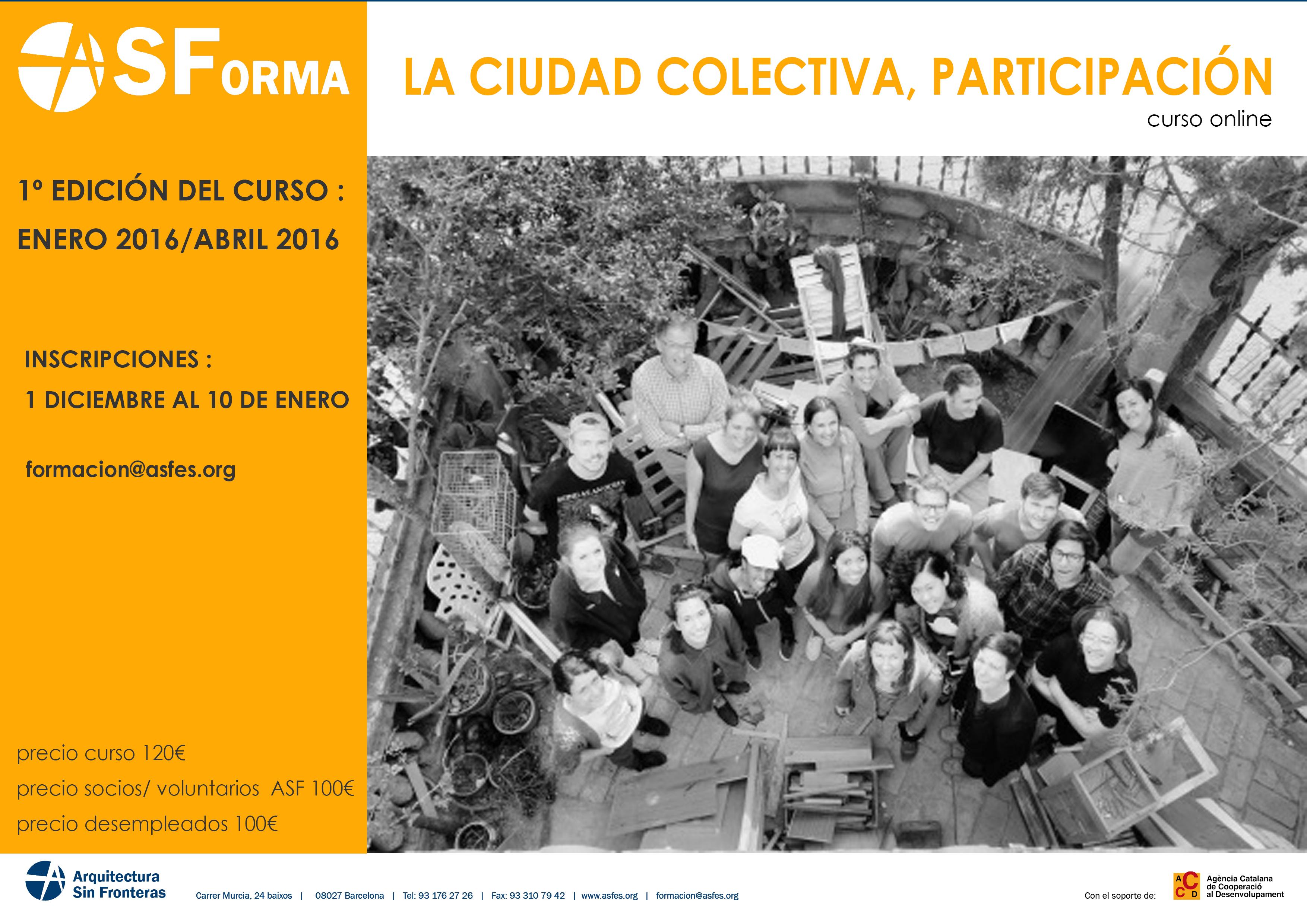 La ciudad colectiva- participación